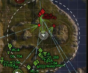 Направление орудий вражеских танков моды для world of tanks 0.8.7 от джова