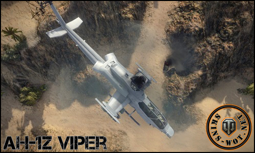 AH-1Z VIPER мод для world of tanks 0.8.7-0.8.8