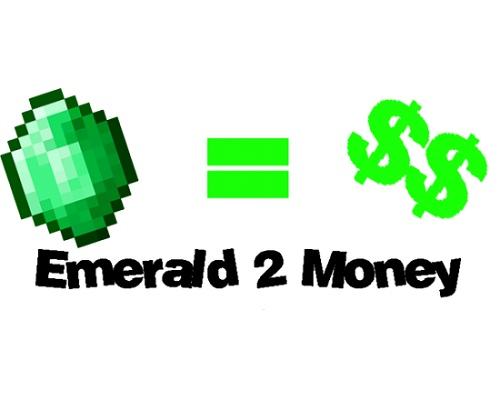 Чит Emerald2Money меняющий изумруды нате деньги
