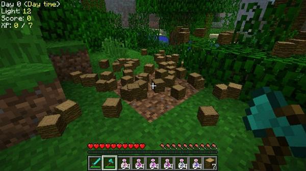 Быстрая древесина Lumber Jack для Minecraft