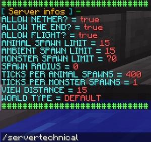 Информация о сервере с Server Infos